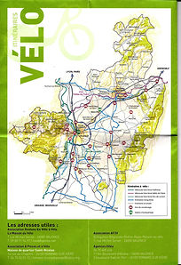 Plan itineraires velo Valence Drome_2018