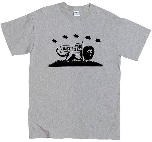 Wackies T-Shirt - XL / GREY MARL / HEAVYWEIGHT