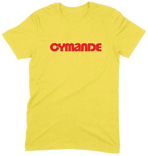 Cymande T-Shirt - XL / YELLOW / ORGANIC STANDARD WEIGHT