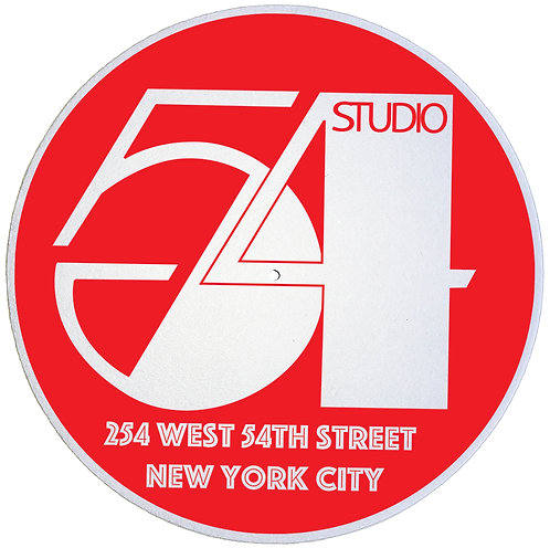 Studio 54 Slipmats - Double Pack (2 Units)
