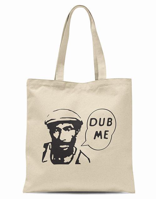 "Dub Me Lee ""Scratch"" Perry Organic Cotton Tote Shopper Bag"