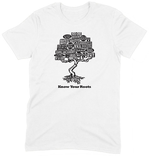 Know Your Roots T-Shirt - 2XL / WHITE / ORGANIC STANDARD WEIGHT
