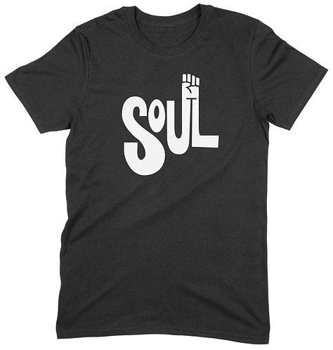 Soul Hand T-Shirt - LARGE / BLACK / ORGANIC STANDARD