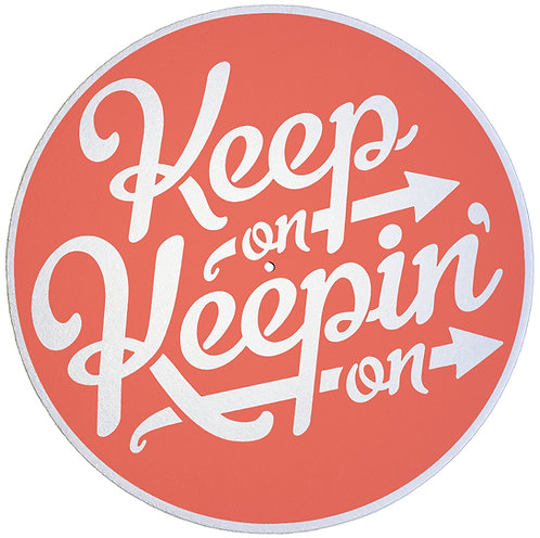 Keep On Keepin' On Slipmats - Double Pack (2 Units)