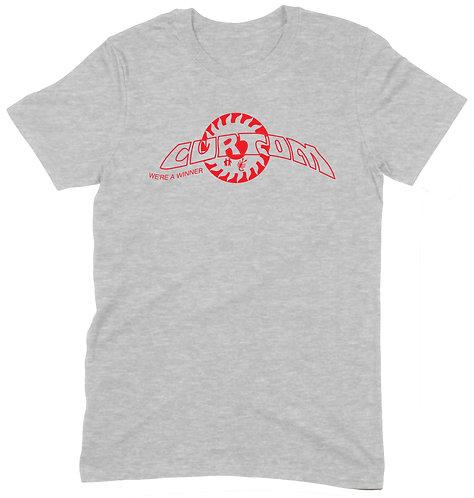 Curtom T-Shirt - MEDIUM / GREY MARL / HEAVYWEIGHT