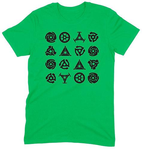 16 Adaptors T-Shirt - LARGE / GREEN / ORGANIC STANDARD