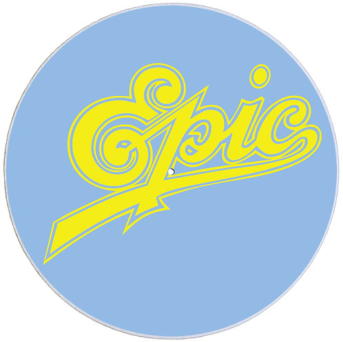 Epic Records Slipmats - Double Pack (2 Units)