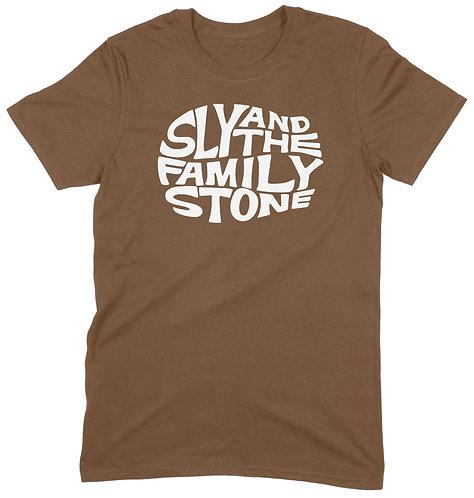 Sly Stone T-Shirt - XXL / LIGHT BROWN / ORGANIC STANDARD WEIGHT