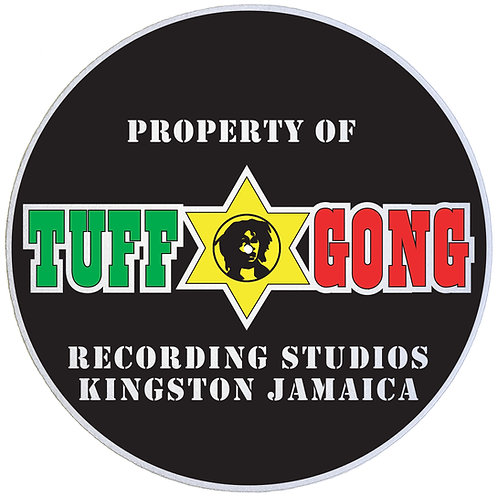 Tuff Gong Records Slipmats - Double Pack (2 Units)