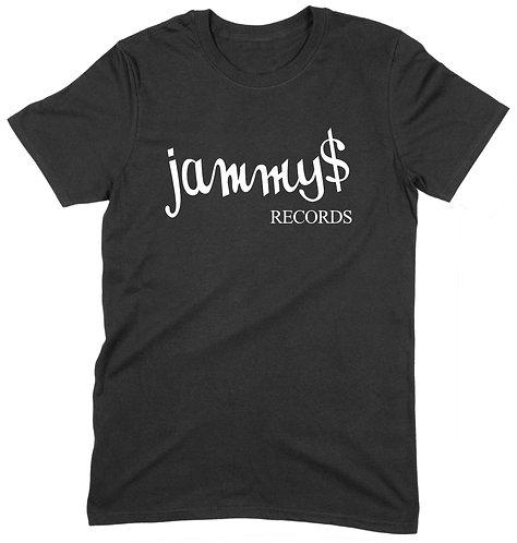 Jammy's T-Shirt - MEDIUM / BLACK / ORGANIC STANDARD WEIGHT