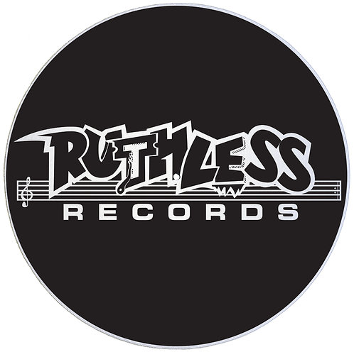 Ruthless Records Slipmats - Double Pack (2 Units)