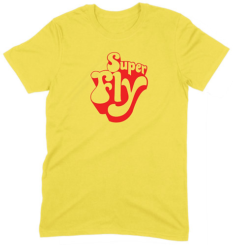 Superfly T-Shirt - XL / YELLOW / ORGANIC STANDARD WEIGHT