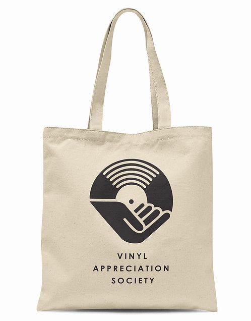 Vinyl Appreciation Society Organic Cotton Tote Shopper Bag
