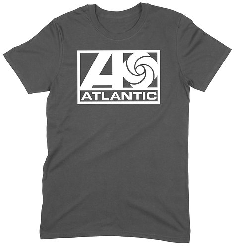 Atlantic T-Shirt - LARGE / CHARCOAL / STANDARD WEIGHT