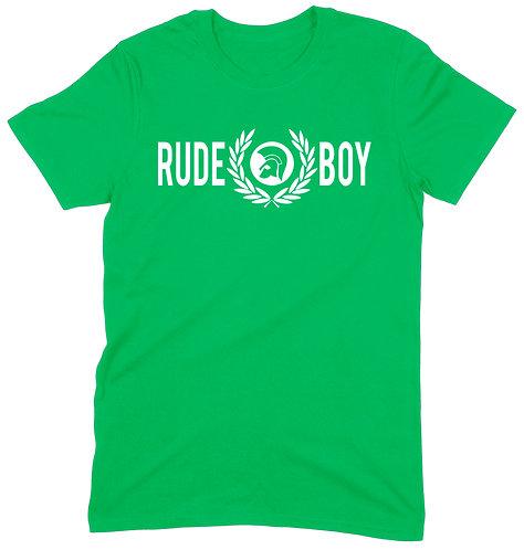 Rudeboy Wreath T-Shirt - 2XL / GREEN / ORGANIC STANDARD WEIGHT