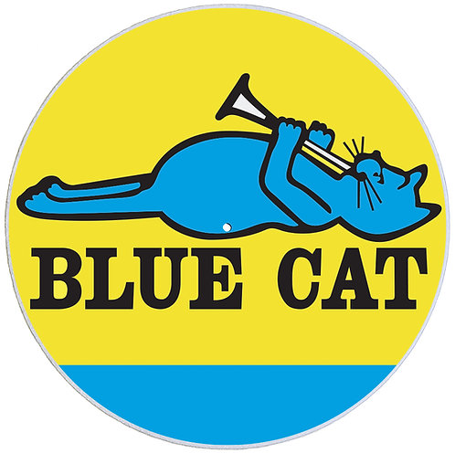 Blue Cat Records Slipmats - Double Pack (2 Units)