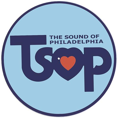 TSOP The Sound Of Philadelphia Records Slipmats - Double Pack (2 Units)