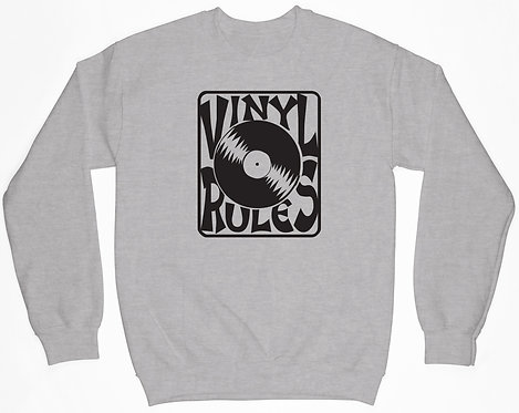 Vinyl Rules Sweatshirt