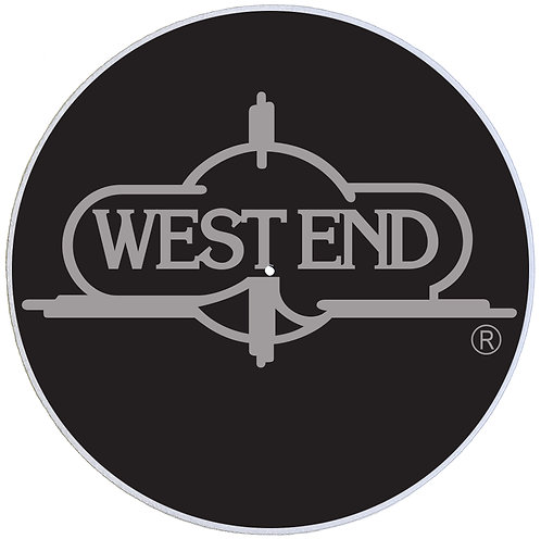 West End Records Slipmats - Double Pack (2 Units)