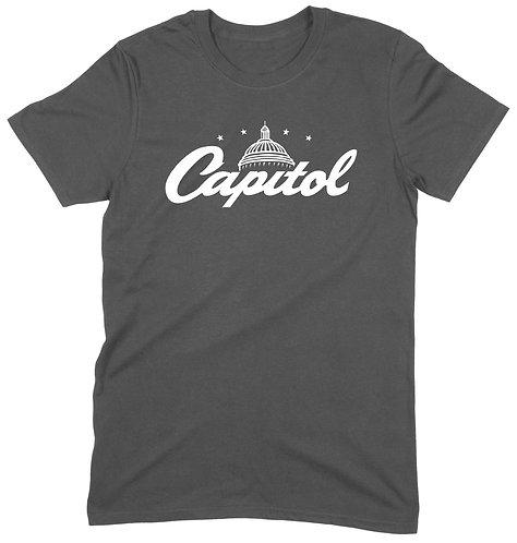 Capitol T-Shirt - LARGE / CHARCOAL / ORGANIC STANDARD