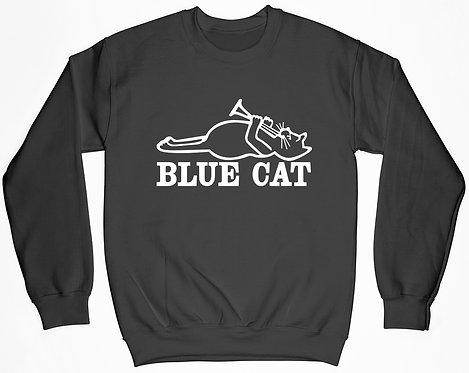 Blue Cat Sweatshirt