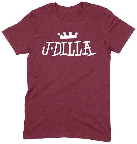 J Dilla T-Shirt - XL / MAROON / ORGANIC STANDARD WEIGHT