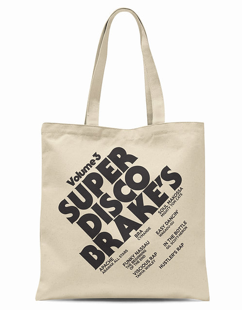 Super Disco Brake's Organic Cotton Tote Shopper Bag
