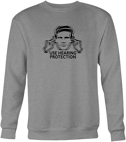 Factory Records Use Hearing Protection Sweatshirt