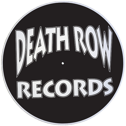 Death Row Records Slipmats - Double Pack (2 Units)