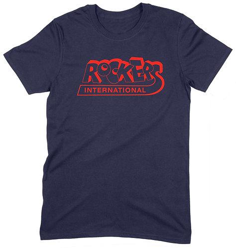 Rockers International T-Shirt - 2XL / NAVY / ORGANIC STANDARD WEIGHT