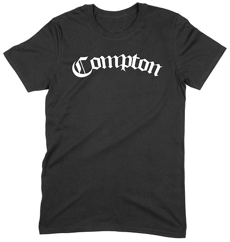 Compton T-Shirt - SMALL / BLACK / HEAVYWEIGHT