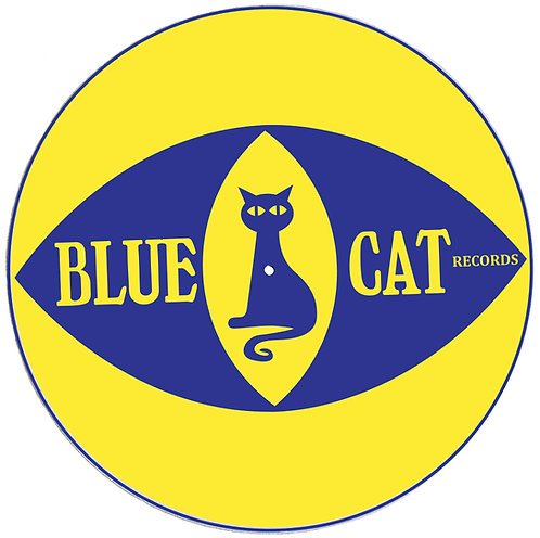 "Blue Cat Records ""Eye"" Slipmats - Double Pack (2 Units)"