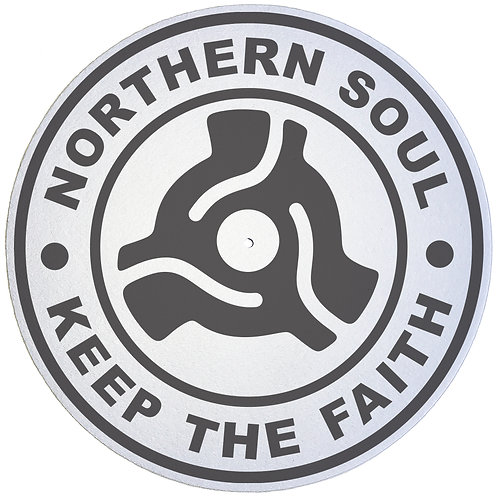 Keep The Faith 45 Adaptor Slipmats - Double Pack (2 Units)