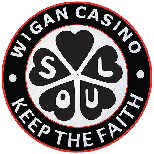 Wigan Casino Slipmats - Double Pack (2 Units)