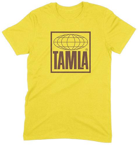 Tamla T-Shirt - LARGE / GOLDEN YELLOW / ORGANIC STANDARD WEIGHT