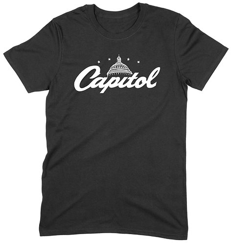 Capitol T-Shirt - 2XL / BLACK / ORGANIC STANDARD WEIGHT