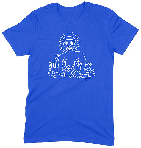 Paradise Garage Final Night T-Shirt - XL / ROYAL BLUE / ORGANIC STANDARD WEIGHT