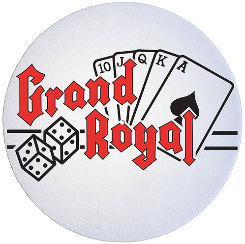 Grand Royal Records Slipmats - Double Pack (2 Units)
