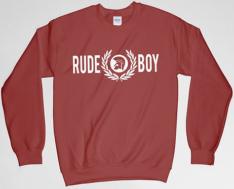 Rudeboy Wreath Sweatshirt