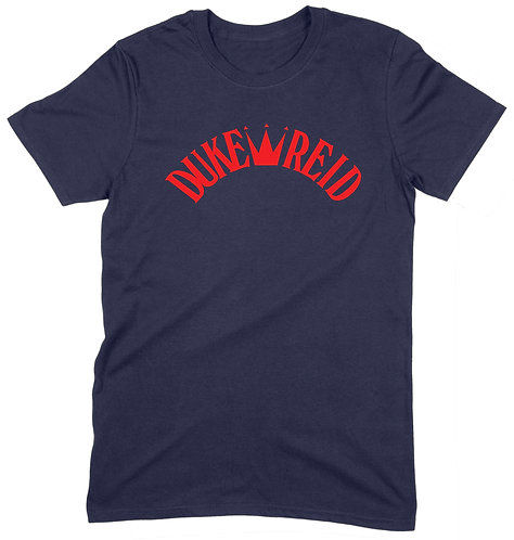Duke Reid T-Shirt - MEDIUM / NAVY / ORGANIC STANDARD WEIGHT