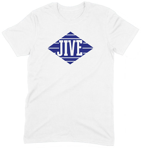 Jive Recs T-Shirt - SMALL / WHITE / PREMIUM WEIGHT