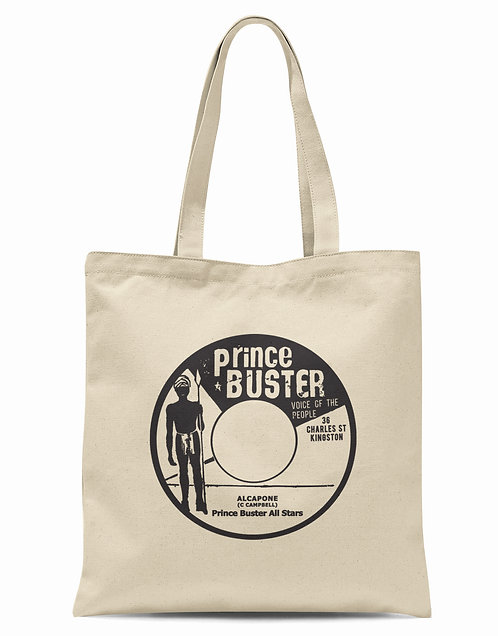 Prince Buster Voice Of The People Organic Cotton Tote Shopper Bag