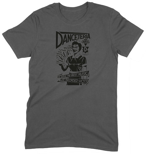 Danceteria Club NYC T-Shirt - SMALL / CHARCOAL / STANDARD WEIGHT