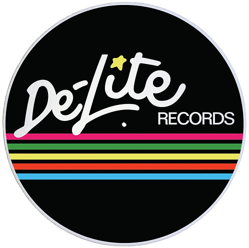 De-Lite Records Slipmats - Double Pack (2 Units)