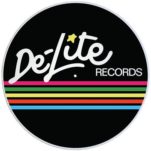 """De-Lite Records Slipmats Double Pack (2 x 7"""")"""
