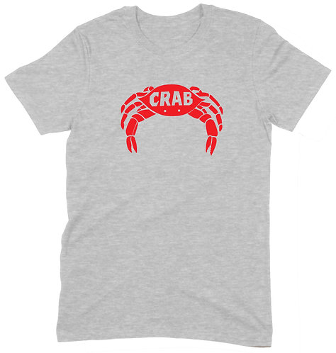 Crab T-Shirt - XL / GREY MARL / STANDARD WEIGHT