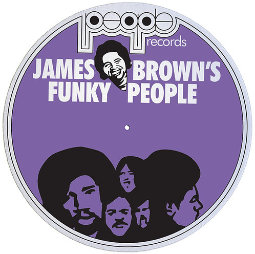 James Brown People Records Slipmats - Double Pack (2 Units)