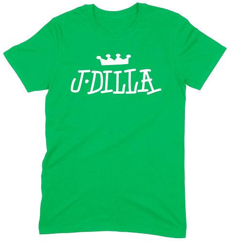 J Dilla T-Shirt - LARGE / GREEN / ORGANIC STANDARD WEIGHT