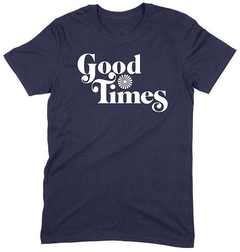 Good Times T-Shirt - 2XL / NAVY / PREMIUM WEIGHT
