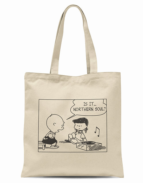 Is It... Northern Soul? Organic Cotton Tote Shopper Bag